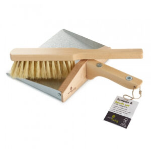 Dustpan And Brush Set With Magnets