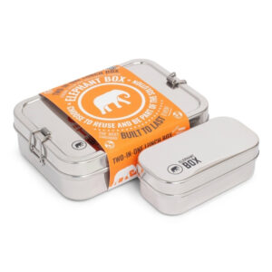 Elephant Stainless Steel Two In One Lunchbox