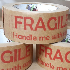 FRAGILE Paper Tape Sq