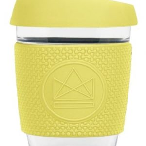 Reusable Glass Coffee Cup Sun Is Shining