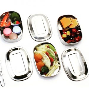 Spice Drive Stainless Steel Lunch Boxes